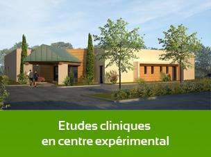 Etudes cliniques en centre expérimental