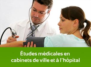 Etudes medicales